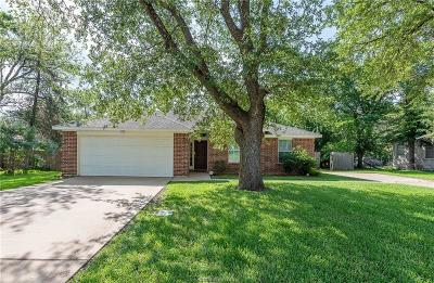 Bryan Single Family Home For Sale: 713 Broadmoor Drive