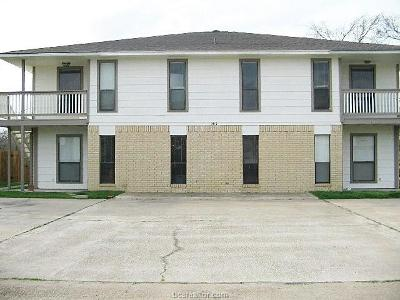 College Station, Bryan Rental For Rent: 703 San Pedro Drive #A-D