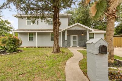 Bryan Single Family Home For Sale: 2607 Staunton Drive