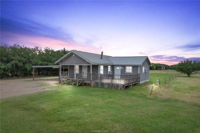 Bryan Single Family Home For Sale: 10265 Kurten Cemetery Road