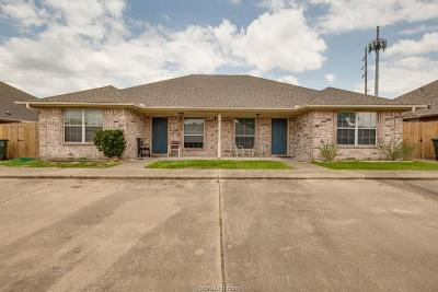 Brazos County Multi Family Home For Sale: 1621-1623 Rock Hollow