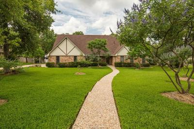 Bryan Single Family Home For Sale: 4022 Green Valley Drive