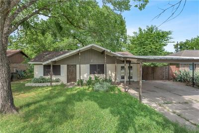 Bryan Single Family Home For Sale: 3016 Kim Street