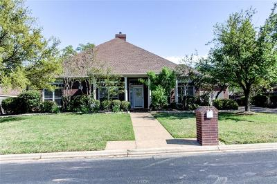 Single Family Home For Sale: 8307 Shadow Oaks