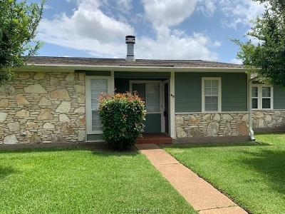 College Station Condo/Townhouse For Sale: 2800 Longmire #60