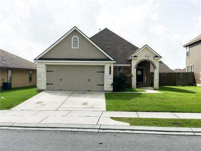 Bryan Single Family Home For Sale: 3097 Positano