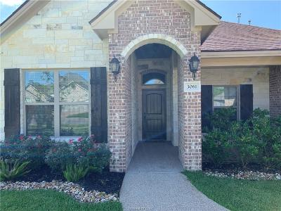Bryan Single Family Home For Sale: 3061 Embers Loop