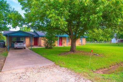 Burleson County Single Family Home For Sale: 1703 West Osr