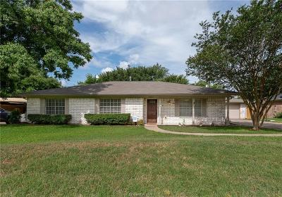 Bryan Single Family Home For Sale: 3800 Windridge Drive