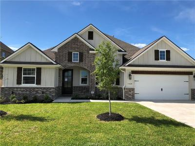 Brazos County Single Family Home For Sale: 1320 Crystal