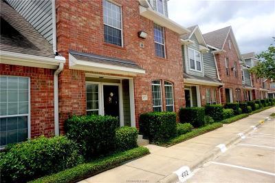 Brazos County Condo/Townhouse For Sale: 1001 Krenek Tap #402