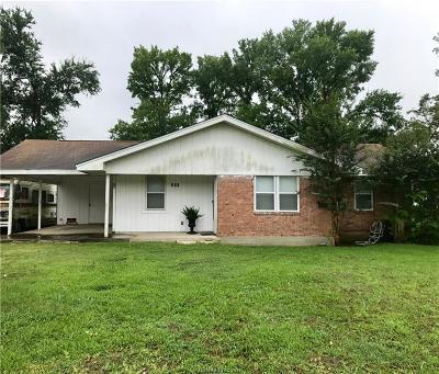 Navasota Single Family Home For Sale: 711 West Virginia Street