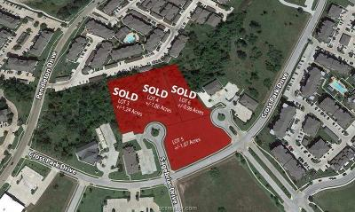 bryan Residential Lots & Land For Sale: 3941 Cross Park Drive