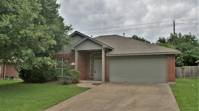 Bryan TX Single Family Home For Sale: $225,000