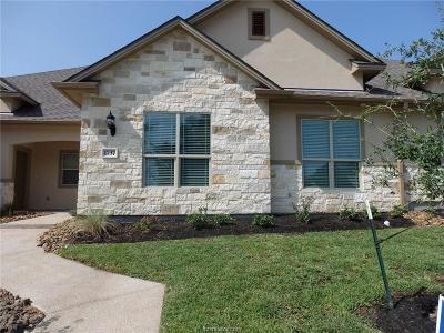 College Station Condo/Townhouse For Sale: 1737 Summit Crossing Lane