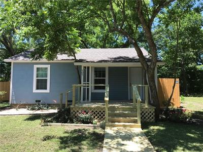 Bryan Single Family Home For Sale: 707 Banks