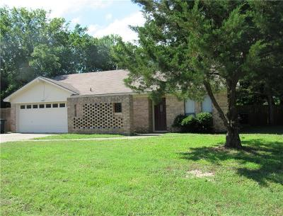 Bryan Single Family Home For Sale: 2501 Rustling Oaks Drive