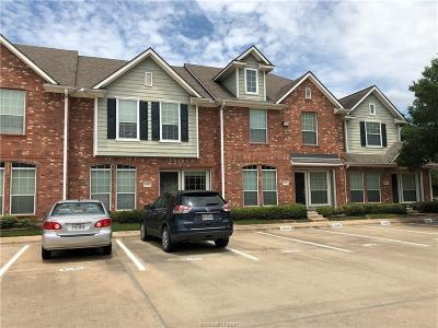 College Station Condo/Townhouse For Sale: 1001 Krenek Tap Road #2505