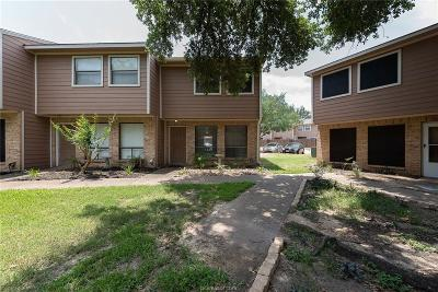 Bryan Condo/Townhouse For Sale: 2807 Wildflower Drive #23