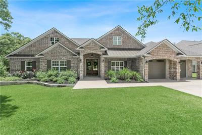 Brazos County Single Family Home For Sale: 3233 Pinyon Creek Drive