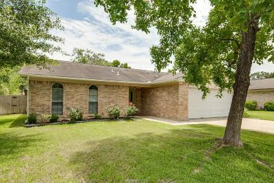 College Station Single Family Home For Sale: 1212 Haddox Court