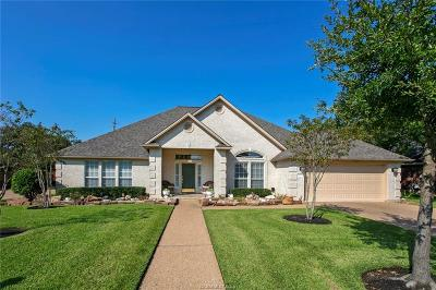 Bryan Single Family Home For Sale: 4610 Park Hollow Circle
