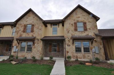 College Station Condo/Townhouse For Sale: 119 Armored