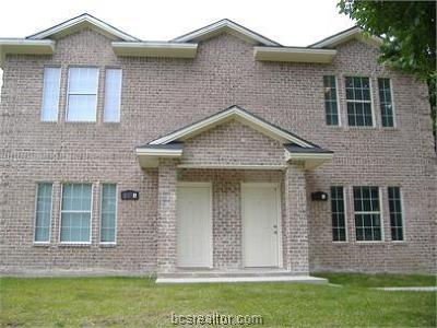 Brazos County Multi Family Home For Sale: 101 Winter Park #A & B