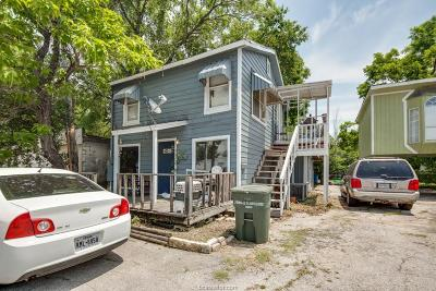 Bryan Single Family Home For Sale: 2705 South College