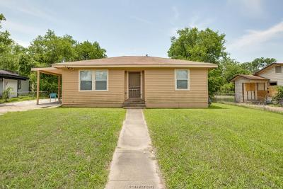 Bryan Single Family Home For Sale: 703 Ash Street