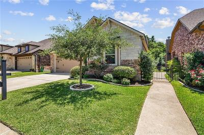College Station Single Family Home For Sale: 1738 Twin Pond