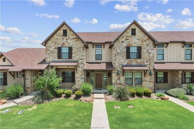 College Station TX Condo/Townhouse For Sale: $209,500