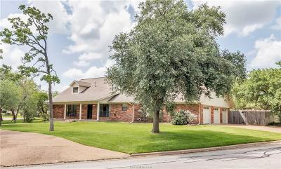 Bryan Single Family Home For Sale: 4717 Williamsburg Drive