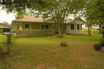 North Zulch Single Family Home For Sale: 3465 Zulch Road