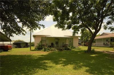 North Zulch Single Family Home For Sale: 3437 Zulch Road