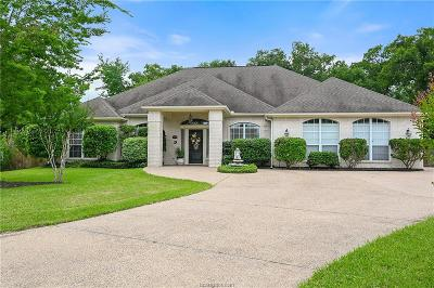 Bryan Single Family Home For Sale: 5608 Hampton Court