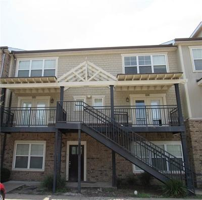College Station Condo/Townhouse For Sale: 1725 Harvey Mitchell Parkway #227