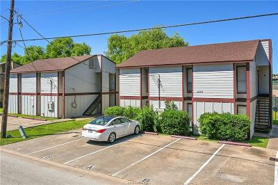 Brazos County Multi Family Home For Sale: 4303 Boyett Street #A-D