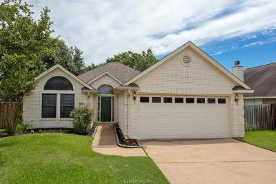 College Station TX Single Family Home For Sale: $198,700
