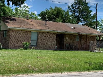 Bryan Single Family Home For Sale: 1301 Bittle Lane