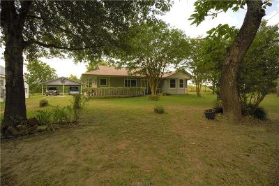North Zulch Single Family Home For Sale: 3465 & 3437 Zulch Road