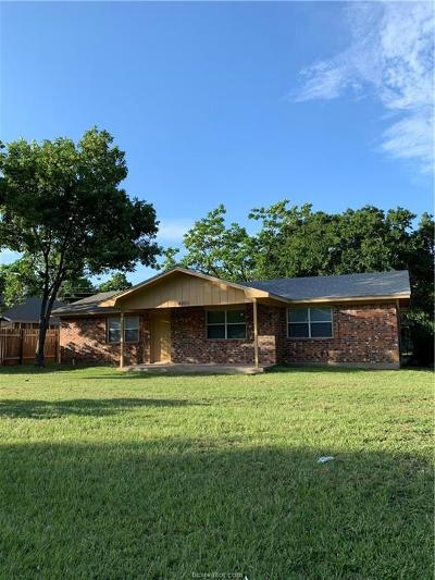 Bryan Single Family Home For Sale: 4001 Milton Street