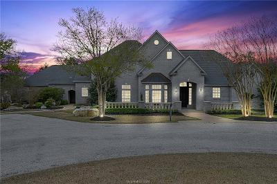 College Station Single Family Home For Sale: 1601 Bird Pond Road