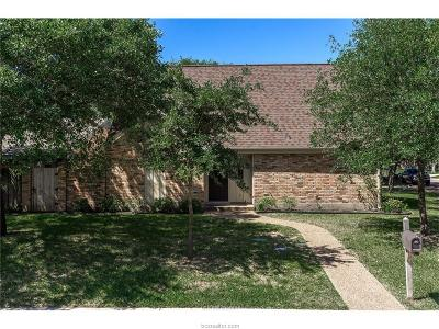 Bryan Single Family Home For Sale: 2900 Camelot Drive