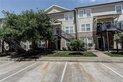 College Station Condo/Townhouse For Sale: 1725 Harvey Mitchell Parkway #1728