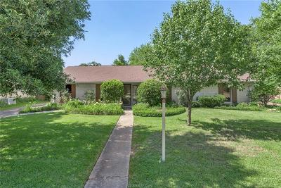 Bryan Single Family Home For Sale: 2808 Cherry Creek Circle