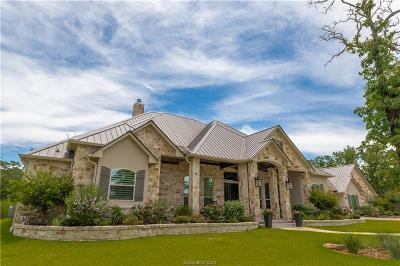 College Station TX Single Family Home For Sale: $1,195,000