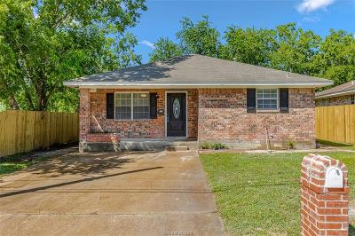 Bryan Single Family Home For Sale: 1002 West 18th Street