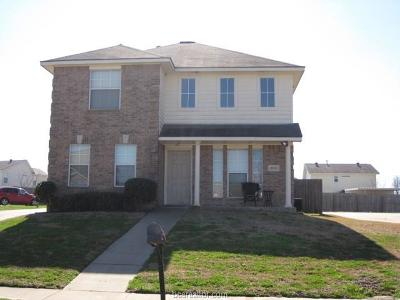 College Station Single Family Home For Sale: 2402 Pintail