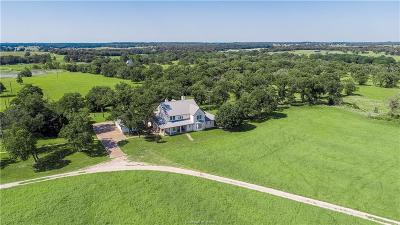 Burleson County Single Family Home For Sale: 6082 County Road 308